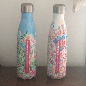 Lilly Pulitzer S'well Water Bottles.